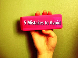5 Mistakes to avoid in IAS Pre