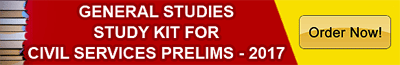General Studies Study Kit for IAS Prelims - 2017