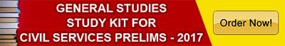 General Studies Study Kit for IAS Prelims - 2017